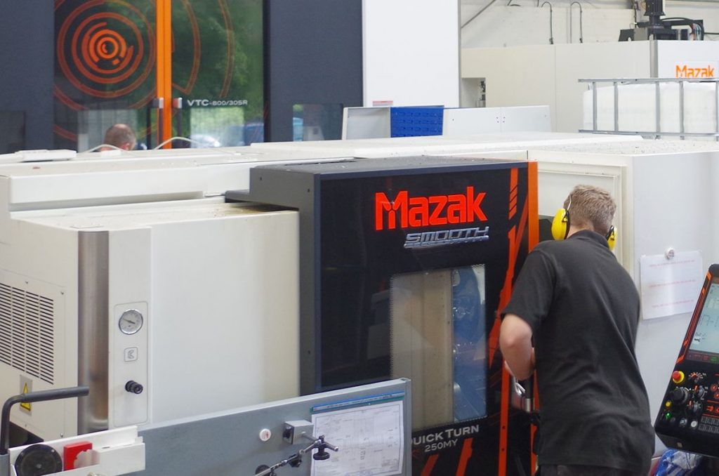 5 axis CNC machining of small & large components