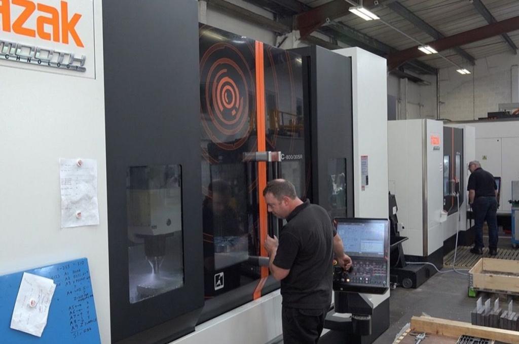 Multi axis CNC Milling of parts Cheltenham